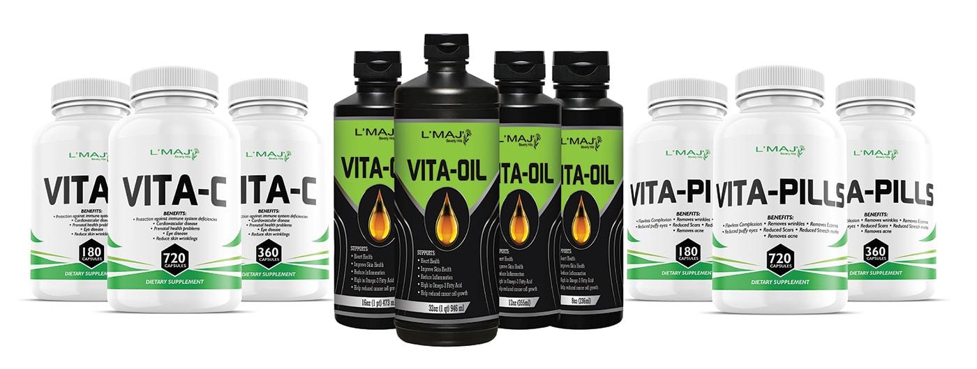 L'Maj VITA supplements Beverly Hills, Online Shop